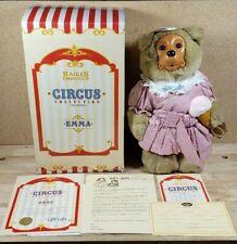 ROBERT RAIKES CIRCUS COLLECTION EMMA BEAR Original Box & Certificate 1994 COA