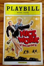 Broadway Playbill-Nice Work If You Can Get-Kelli O'Hara & Matthew Broderick 2012