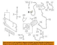 AUDI OEM A4 Quattro A/C AC Condenser/Compressor/Line-Ac Hose O-ring 8E0260749C