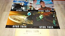 STAR TREK  ! jj abrams chris pine  jeu photos cinema lobby cards fantastique