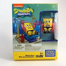 SpongeBob SquarePants Wacky Gym Mega Bloks 2015 Figure Set