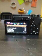 SONY A6500 24.2 MP Fotocamera Digitale - Nera