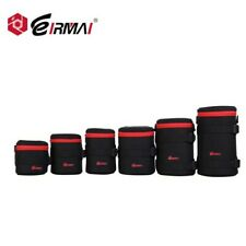 EIRMAI Nylon Weatherproof Dustproof DSLR Camera Lens Pouch Bag Case
