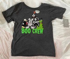 NWT Disney Boo Crew Halloween T-Shirt Boy/Girl T-Shirt Size 14 Kids XL