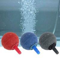 Aquarium Fish Tank Pond Pump Air Stone Cylinder Oxygen Bubble mu Aerator Z8N4