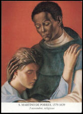 santino-holy card*S.MARTINO DE PORRES