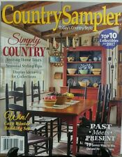 Country Sampler Jan 2017 Simply Country Seasonal Styling Tips FREE SHIPPING sb