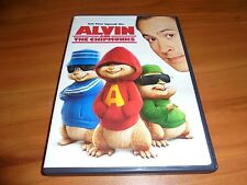 Alvin and the Chipmunks (DVD, Widescreen/Full Frame 2008) Jason Lee Used