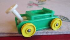 Fisher  Price Little People Little Rider Ride ON #656 Wagon GREEN ONLY