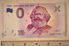 Zero Euro Karl Marx Fake Bill Uncirculated Mint Hot Off the Press (3)