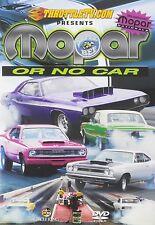 Mopar or No Car (DVD, 2011)