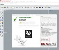 Rhinoceros 3D MODELING V6 ⭐ Win & Mac ⭐ Key 🗝️ UPDATED