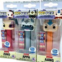 Funko Avatar: The Last Airbender - Aang, Appa and Zuko 3-Pack Pop! Vinyl Pez