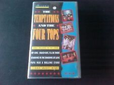 197 VHS  The Temptations & The Four Tops