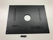 Frästisch/Tischfräse/Einlegeplatte/Befestigungsplatte/Grundplatte für Oberfräse