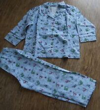 BNW tag The Little White Company Knight & Dragon Pyjama set Flannel 12-18 mths