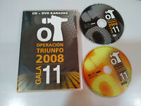 Operacion Triunfo OT 2008 Gala 11 - CD + DVD Karaoke