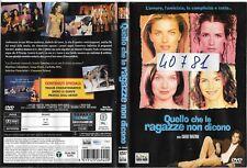 QUELLO CHE LE RAGAZZE NON DICONO [2000] dvd ex noleggio