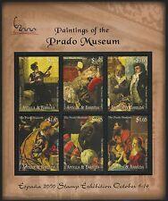 Antigua 2409 MNH Art, Paintings, Prado Museum