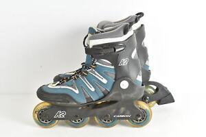 Inline Skates K2 Damen Gr. 40,5 Carbon SoftBoot gebraucht Camano Comfort Fit