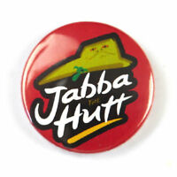 Star Wars Novelty - Button Badge - 25mm 1 inch - Boba Fett - Jabba the Hutt