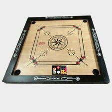"""Carrom Board With Free~COIN'S+Striker+Powder Game Board SIZE 27 x 27"""" X MAS Gift"""