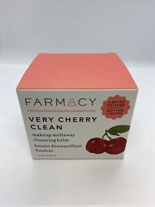 Farmacy Very Cherry Clean Makeup Meltaway Cleansing Balm 3.4 oz Limited Edition