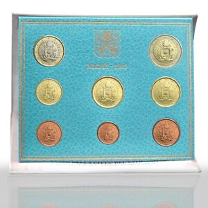 SET DIVISIONALE 2019 VATICANO Vatican 8 monete UNC /BU