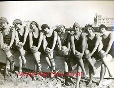 "Mack Sennett Bathing Beauties Silent Comedy 7x9"" Photo #K9526"