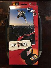 CASE LOGIC DVD CD BLURAY CASE - LIMTED EDITION TONY HAWK Signature Series 20 NWT