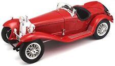 1930 Alfa Romeo 8C 2300 Spider Touring rojo 1 18 Bburago 12063