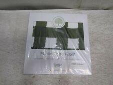 New listing Parker Baby Muslin Blanket Green Buffalo