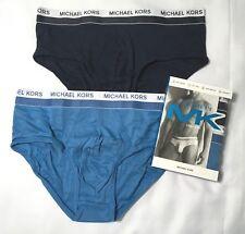 Michael Kors Men's Underwear Ultimate Rib 2 Lo Rise Briefs Soft Touch M L XL