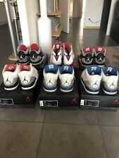 Air Jordan 7 et 3 Retro de 2008 et 2011 Sz 12(lot de 6 Paires) 100% Authentiques