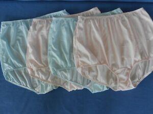 4 VTG Sears Granny Panties Sissy High waist  Sz. 9 Very Impressive Panty USA.