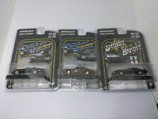 GREENLIGHT SMOKEY AND THE BANDIT '77 TRANS AM/ '80 TRANS AM & SHERIFF JUSTICE