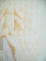 Baby Boy Girls Picot edge Shawl Blanket rabbit toy KNITTING PATTERN DK 50 x 66cm