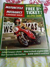 Motorcycle Mechanics(dec1970) OSSA 250/Royal Enfield250/BMW60/5/QUB 500