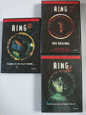 Ring Trilogie 1, 2, 3 - Horror Videofluch, Original aus Japan - Albtraum, Nakata