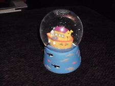 Musical Water Snow Globe Noah's Ark Twinkle Little star music Ocean Fish
