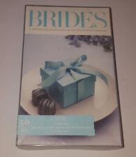 Brides Magazine Tiffany Blue Wedding Favor Baby Shower Candy Birthday Party Box
