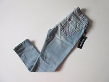 NWT True Religion Audrey Super T in Rare Find Destroyed Slim Boyfriend Jeans 27