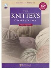The Knitters Companion DVD Vicki Square Tips Tricks How To Knit Instructional