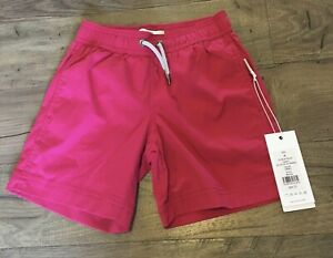 ONIA ~ Charlie Trunk ~ Swim Trunks Swimsuit - Red - Little Boys Size 4 - NWT $65