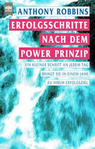 Erfolgsschritte nach dem Power Prinzip - Anthony Robbins, Taschenbuch, 413 S.