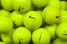 1 Dozen NIKE RZN Yellow Golf Balls MINT / Near Mint Grade