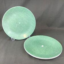 Corelle Green Linen Set Of (4) 10.25 Inch Diameter Dinner Plates
