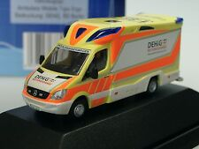 Rietze Mercedes Tigis Ergo Rettungsdienst BERLIN - 68626 - 1/87 PC