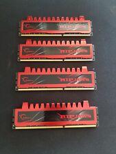 G SKILL Ripjaws DDR3 8GB 4 X 2GB Sticks DDR3 1600Mhz F3-1600CL9D-4GBRH