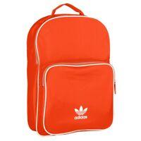 Adidas Backpack Classic Rucksack Sport Freizeit Schule Tasche orange DV0184